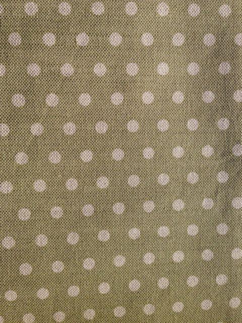 polka dot olive