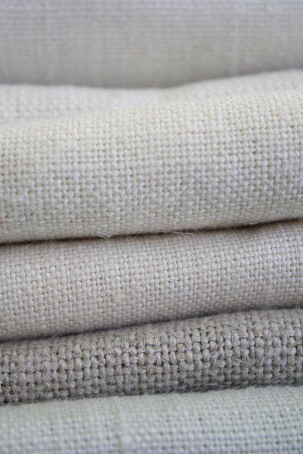 plain vintage linen from £45 per m
