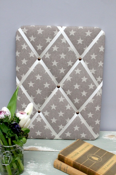 midi star french grey memo board