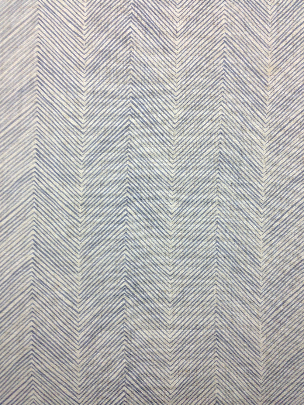 herringbone faded indigo
