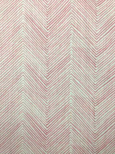 herringbone faded red