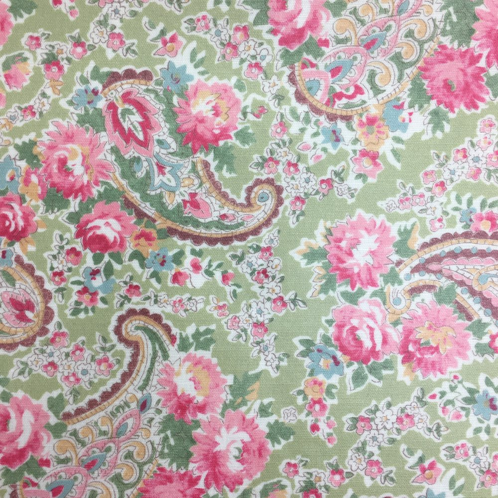 vintage paisley apple
