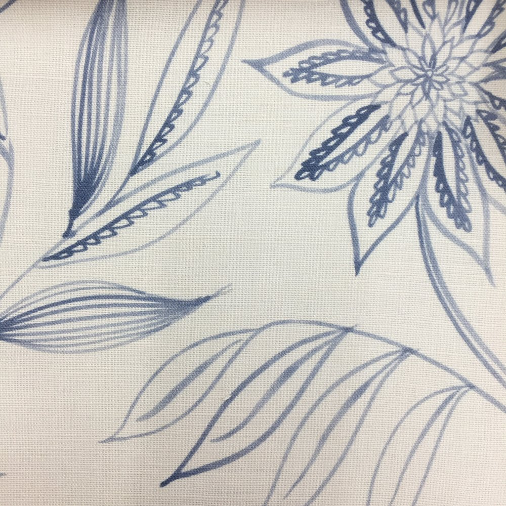 flora faded indigo