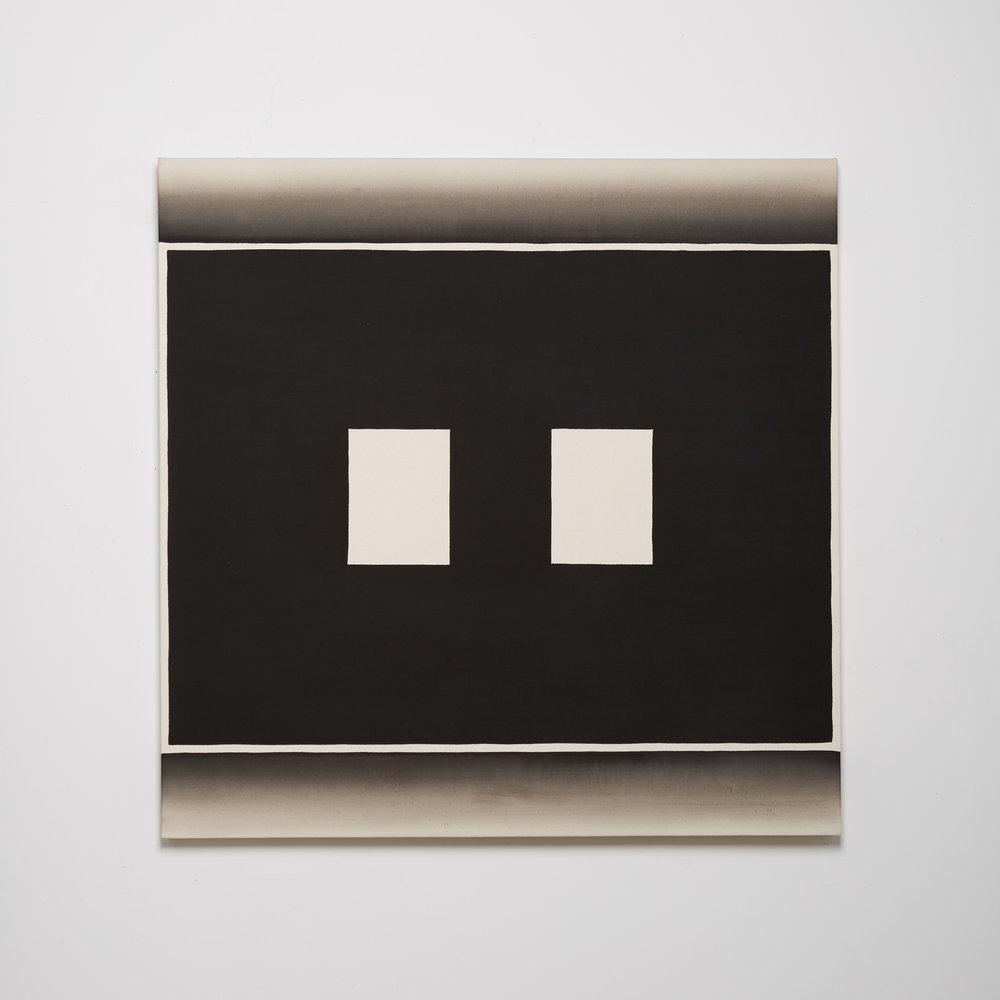 Black Channel Painting (Split Screen II)