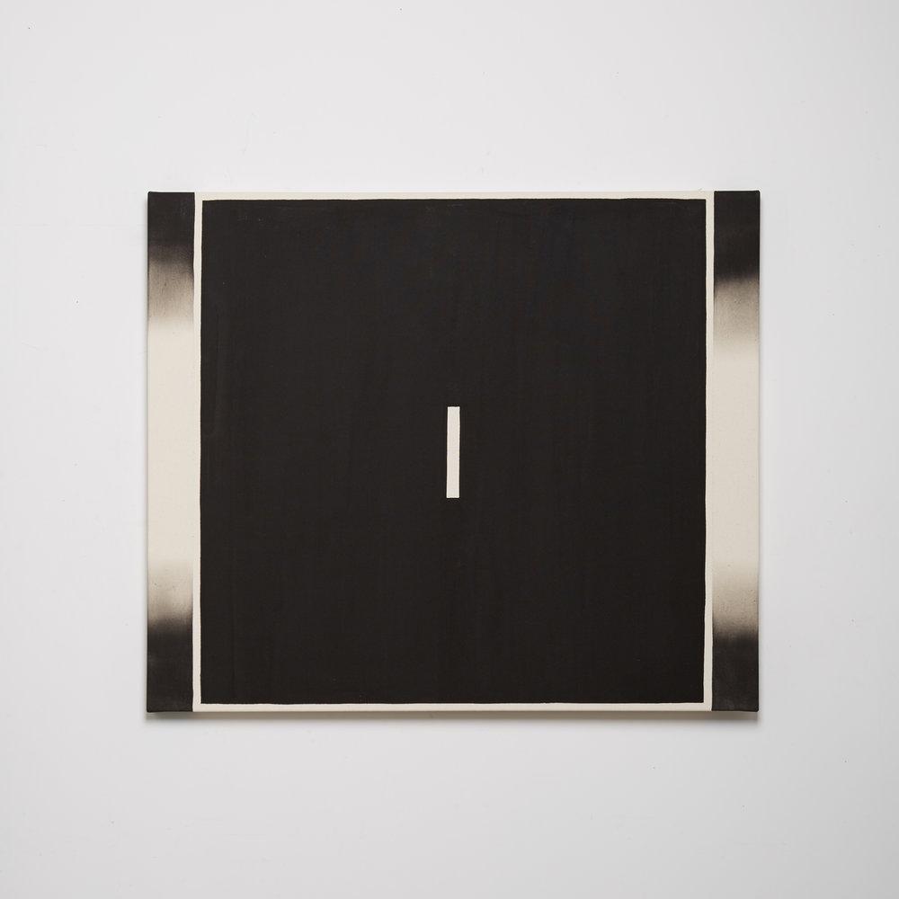 Black Channel Painting (Split Screen V)