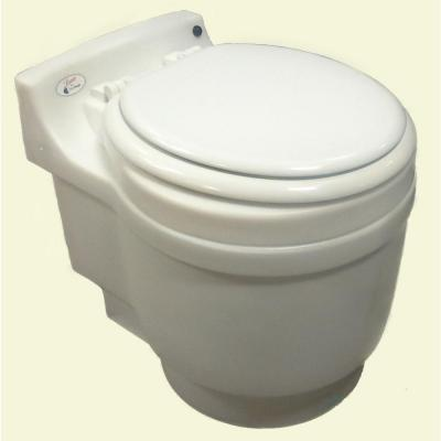 The Laveo Dry Flush toilet...it'll take care of our business.