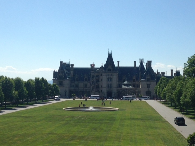 This is the Biltmore House. I grew up not far from it, and my wife and I went there over Memorial Day. For those keeping notes, this is NOT a tiny house.