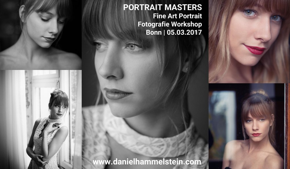 PORTRAIT MASTERS - Workshop für Portrait Fotografie in Bonn