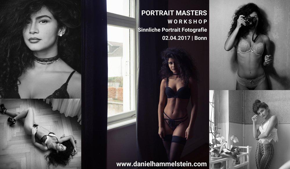 Workshop Portrait und Dessous Fotografie in Bonn
