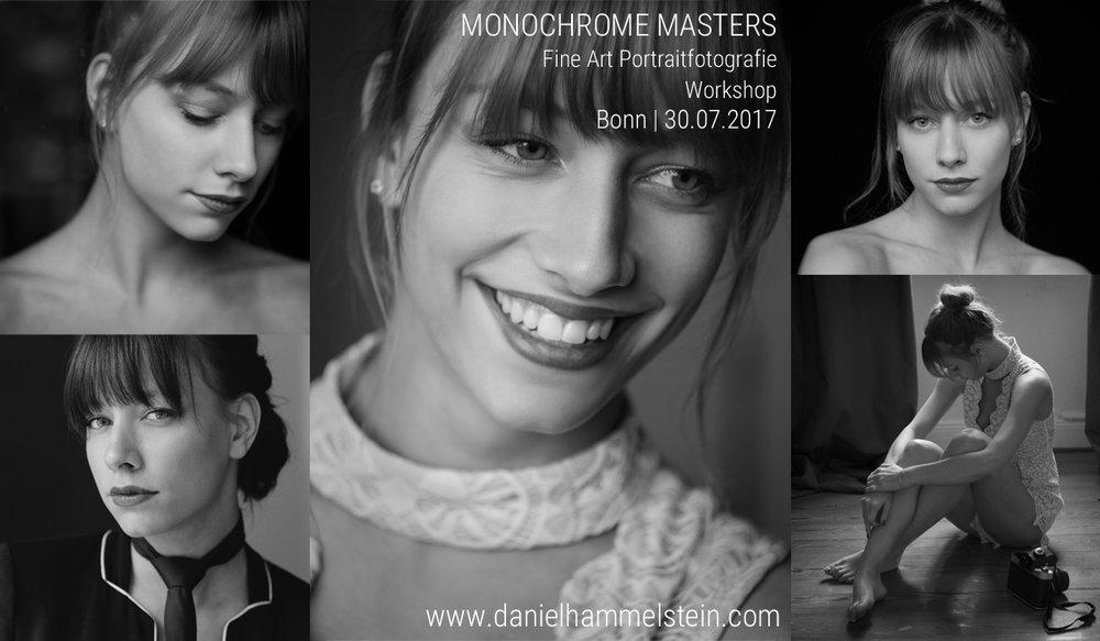 Monochrome Masters - Workshop Portrait Fotografie in Bonn