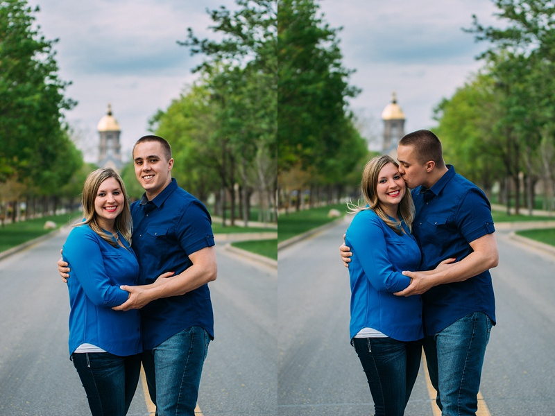 Shelby Chari Photography | South Bend Wedding Photographer | Notre Dame Engagement