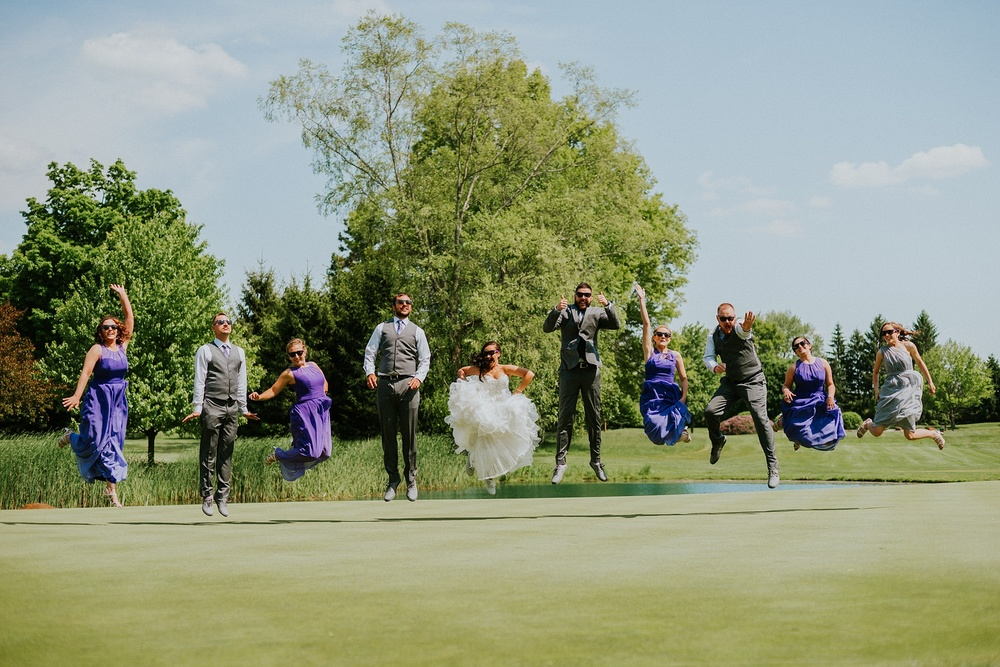 Shelby Chari Photography | South Bend Wedding Photographer | Bridal Party