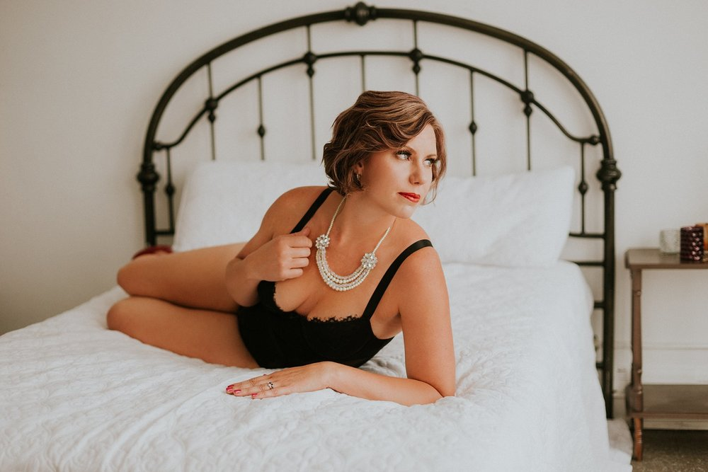South Bend Boudoir | Boudoir Photographer | Mon Chari Boudoir
