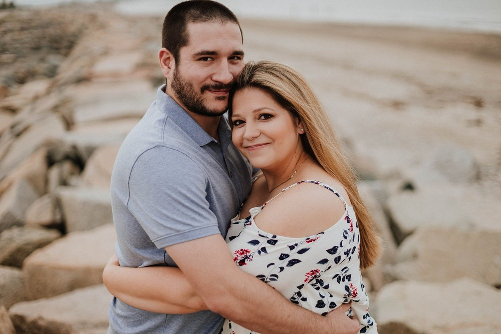 Plymouth, MA Engagement Session | Long Beach Engagement Session | Plymouth Massachusetts | Massachusetts Wedding Photographer | Shelby Chari Photography