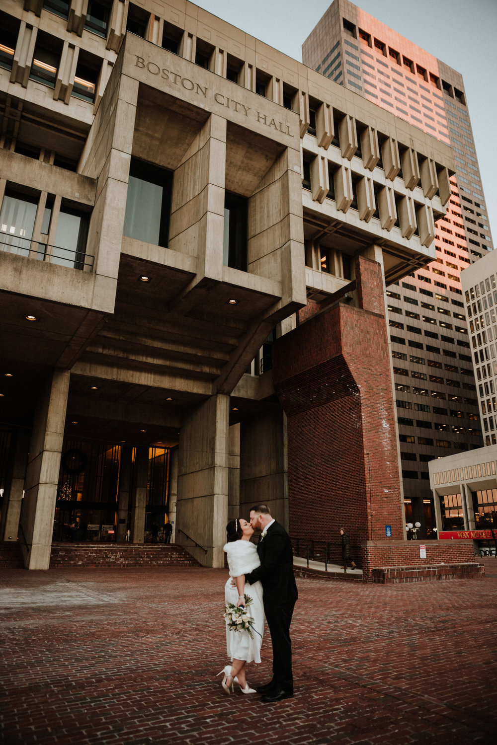 Massachusetts Wedding Photographer | New England Wedding Photographer | Western Mass Wedding Photographer | Boston Wedding Photographer  | Boston City Hall Elopement