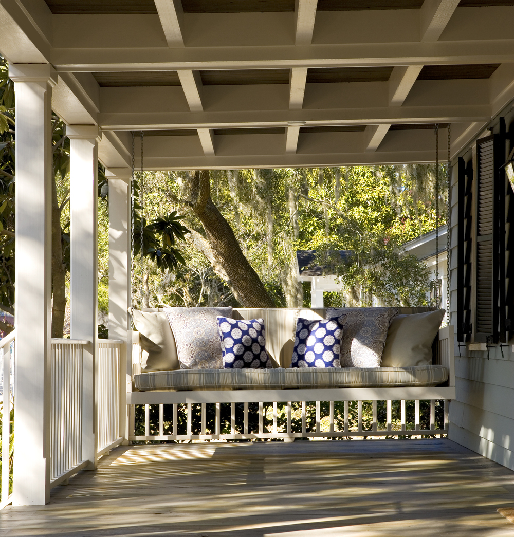 Custom Lowcountry Front Porch Swing