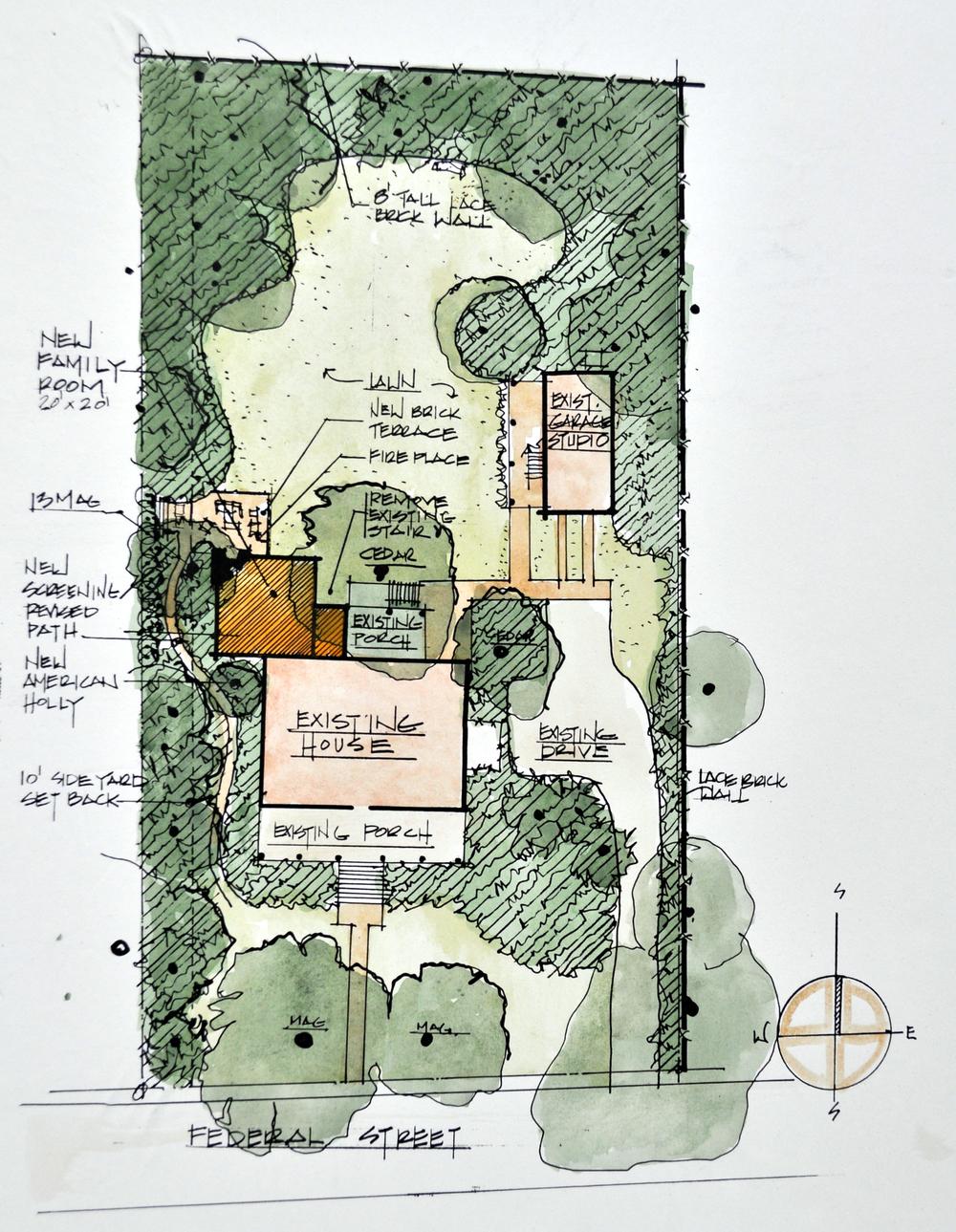Winch Site Plan