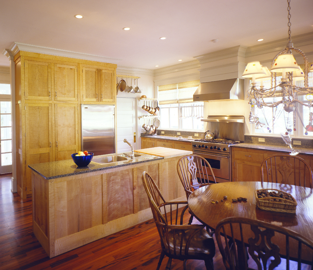 Custom Kitchen built by Bill Bosworth.