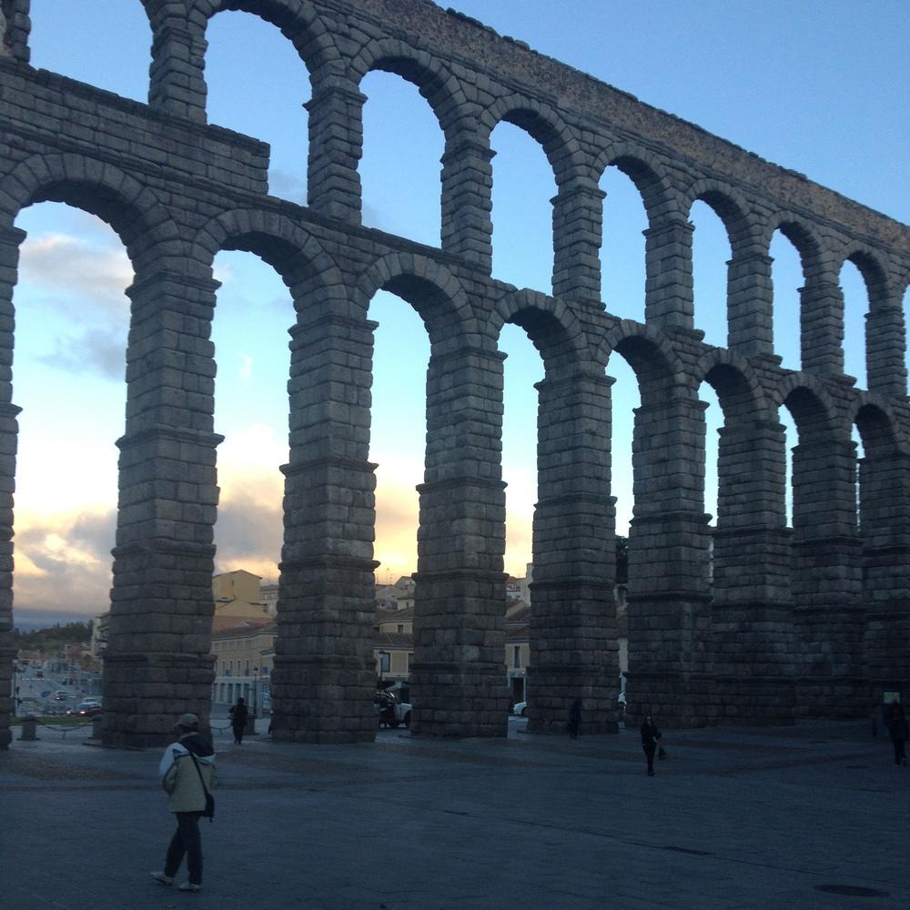 Roman Aqueducts, Built using no mortar