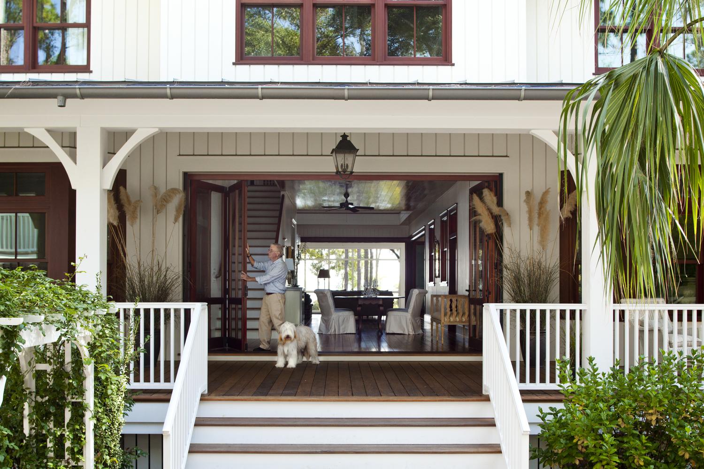 House design modern dog trot modern house for House plans dog trot style