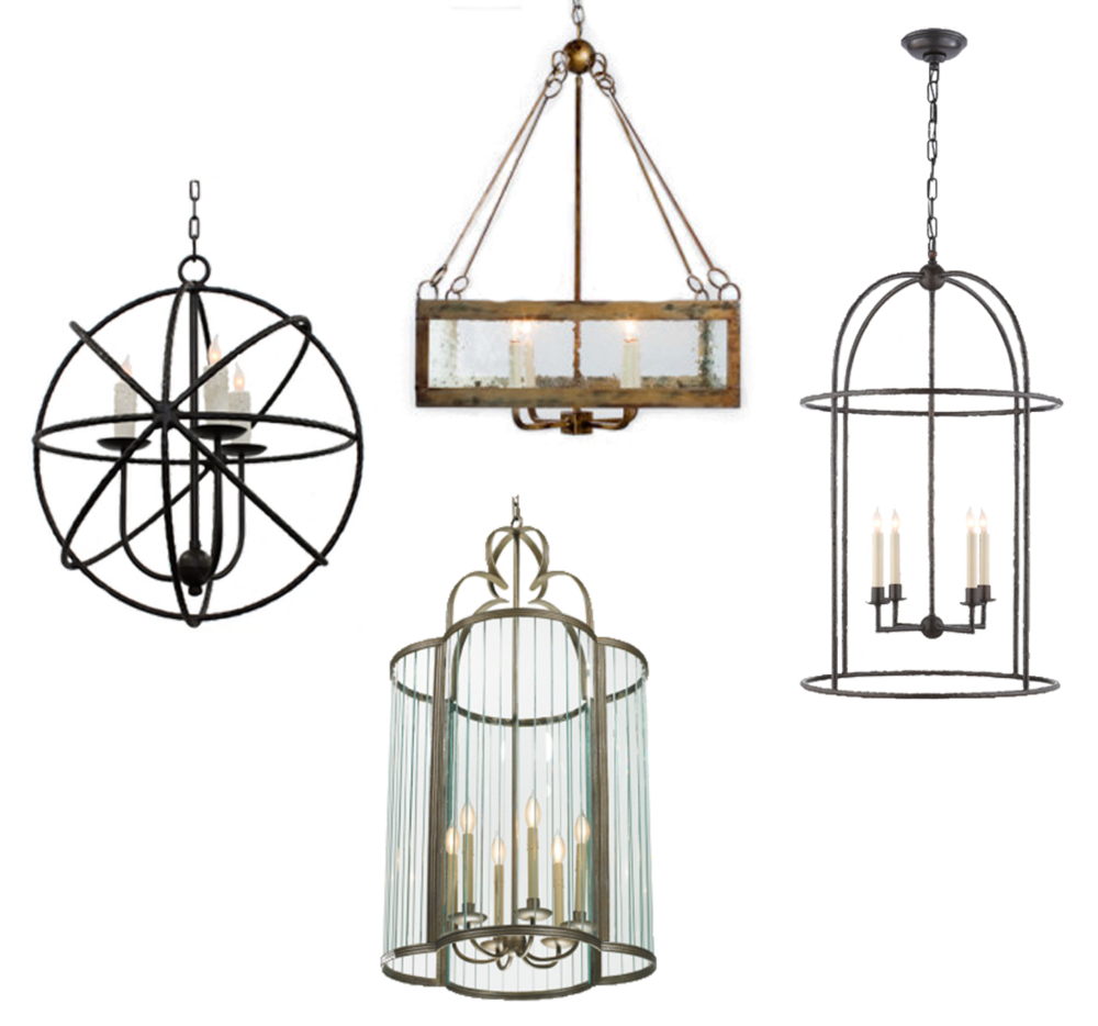 ironware lighting. Clockwise From Top, Lowcountry Originals LCO-044 Square With Seeded Glass, Circa Desmond Cage Lantern, Ironware International Cambria, Lighting