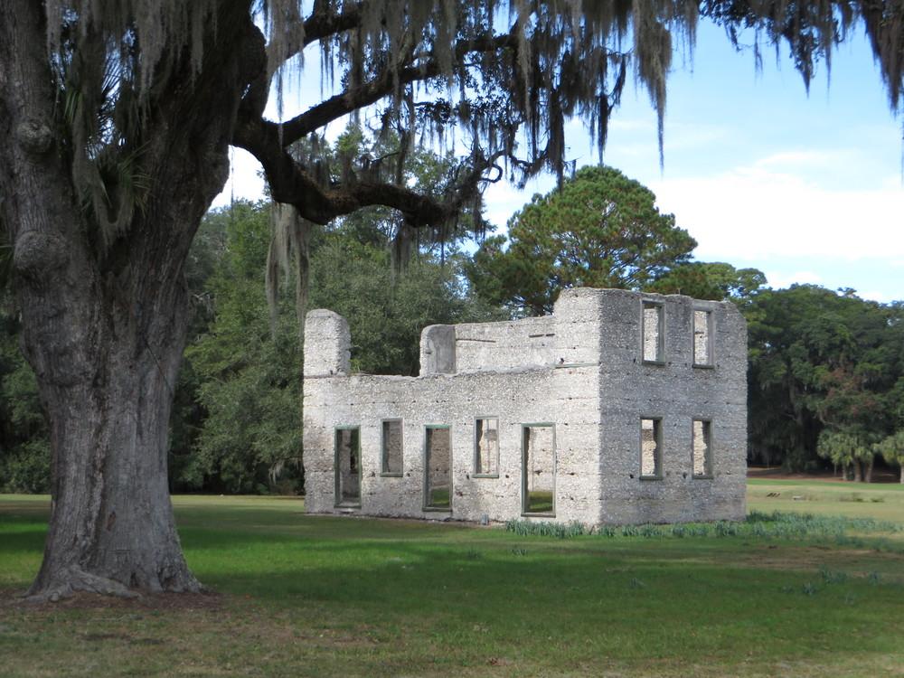 Tabby Ruins Spring Island, SC
