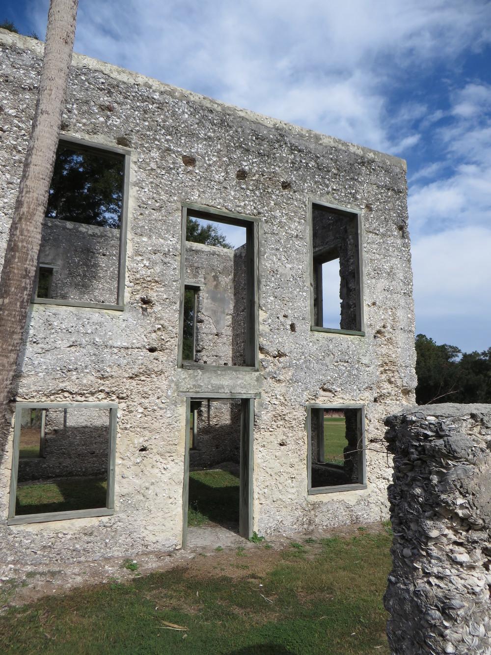 Tabby Ruins, spring Island, SC