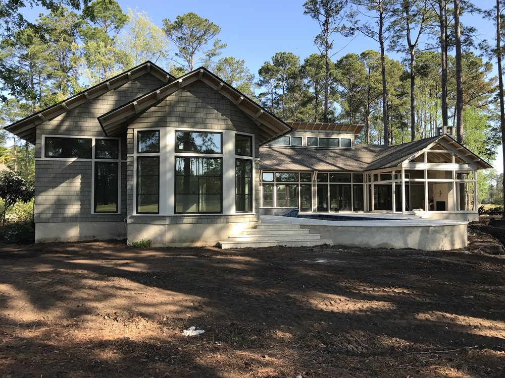The owners will be able to take full advantage of our beautiful lowcountry climate with a house that flows seamlessly from indoors to out.