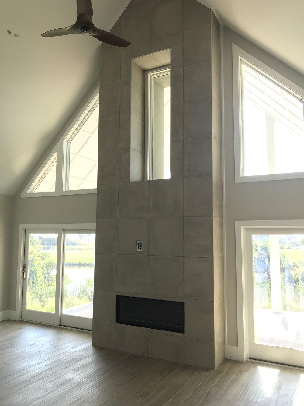 Window in chimney