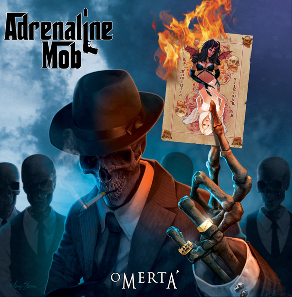 Album or Cover Adrenaline Mob Omerta Adrenaline Mob Omerta'