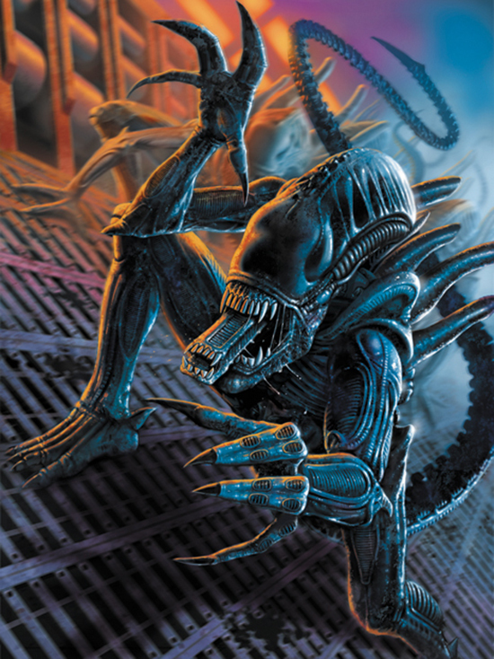 Aliens - Computer Gaming World Cover Art