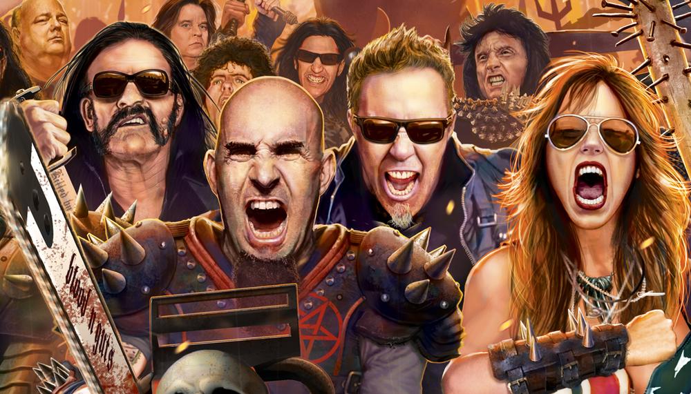 Dio Tribute Metallica Marc-sasso-dio-tribute-art