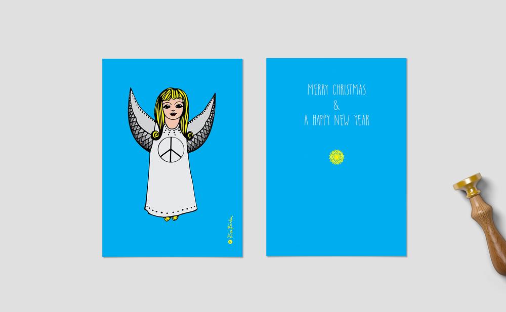 Peace Angels - Christmas cards — Rita Börlin