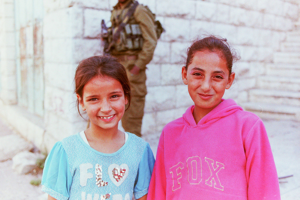 two girls in hebron who like bollywood
