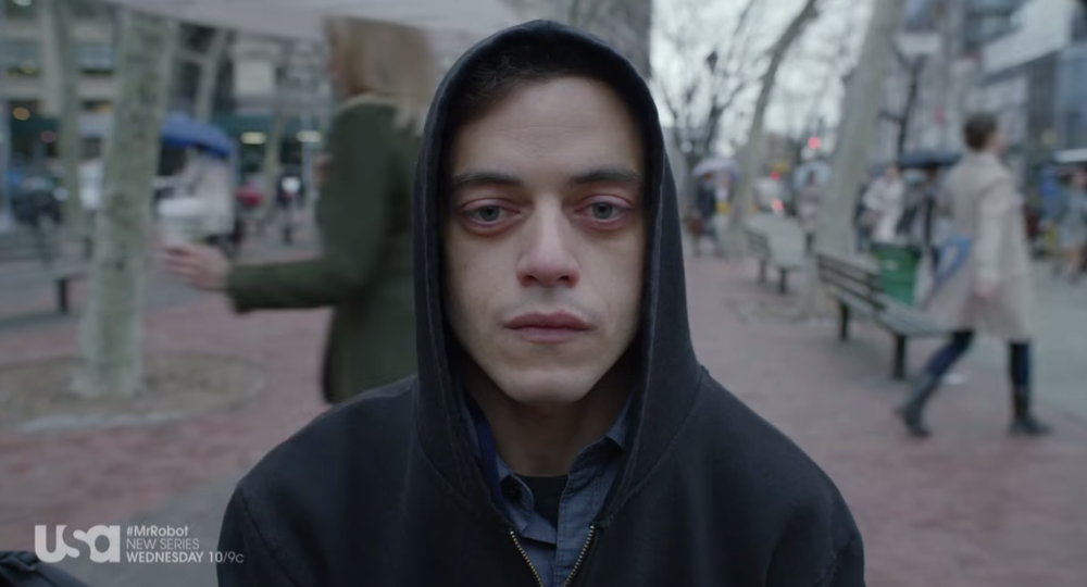 Rami Malik in Mr. Robot