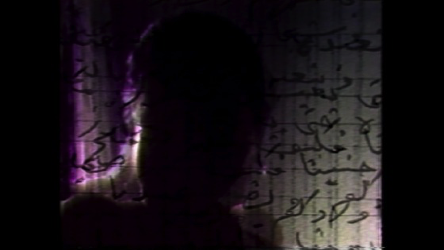 Still from 'Measures of Distance' by Mona Hatoum, 1988