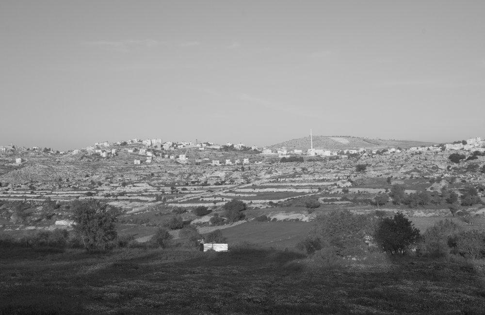 [observational tour IV], Silwad village - the highest minaret in Palestine, 2016