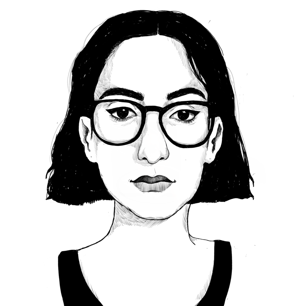 RAMA DUWAJIILLUSTRATOR - Rama Duwaji is a Syrian illustrator and visual artist born and currently based in the U.S.A. Rama's work mainly consists of illustrations and simplified designs. She utilizes her art work to discuss topics within the Middle East, such as beauty standards and misogynyinstagram