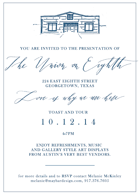Invitation created by Whitney Farnsworth.