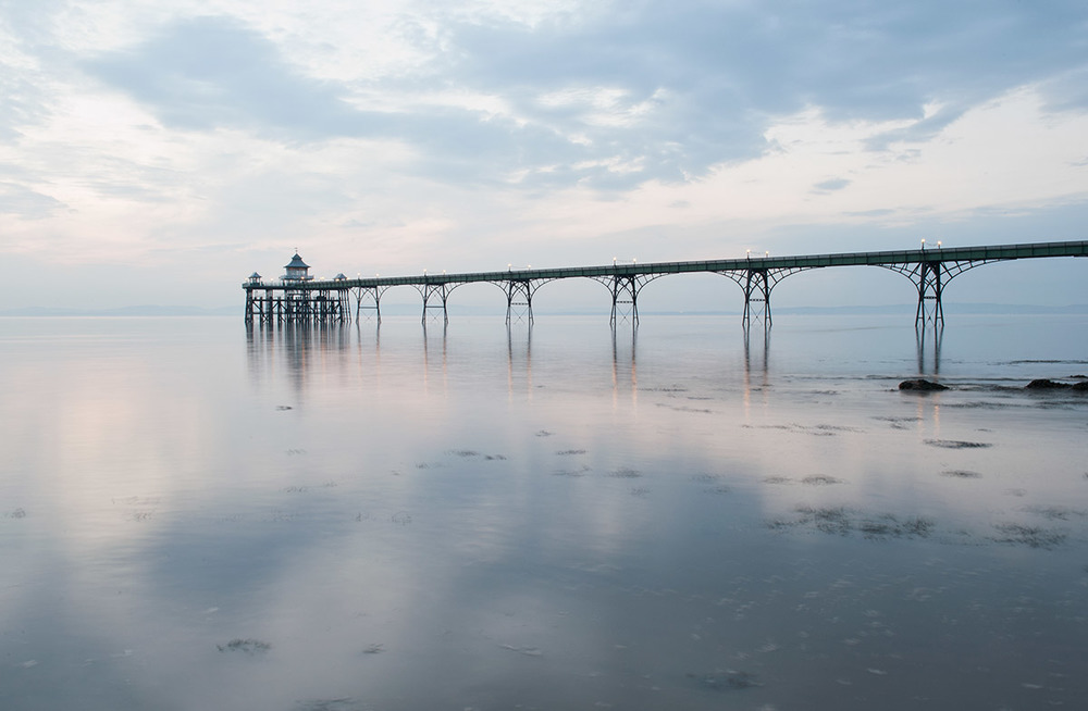 Clevedon Pier on a Still Day