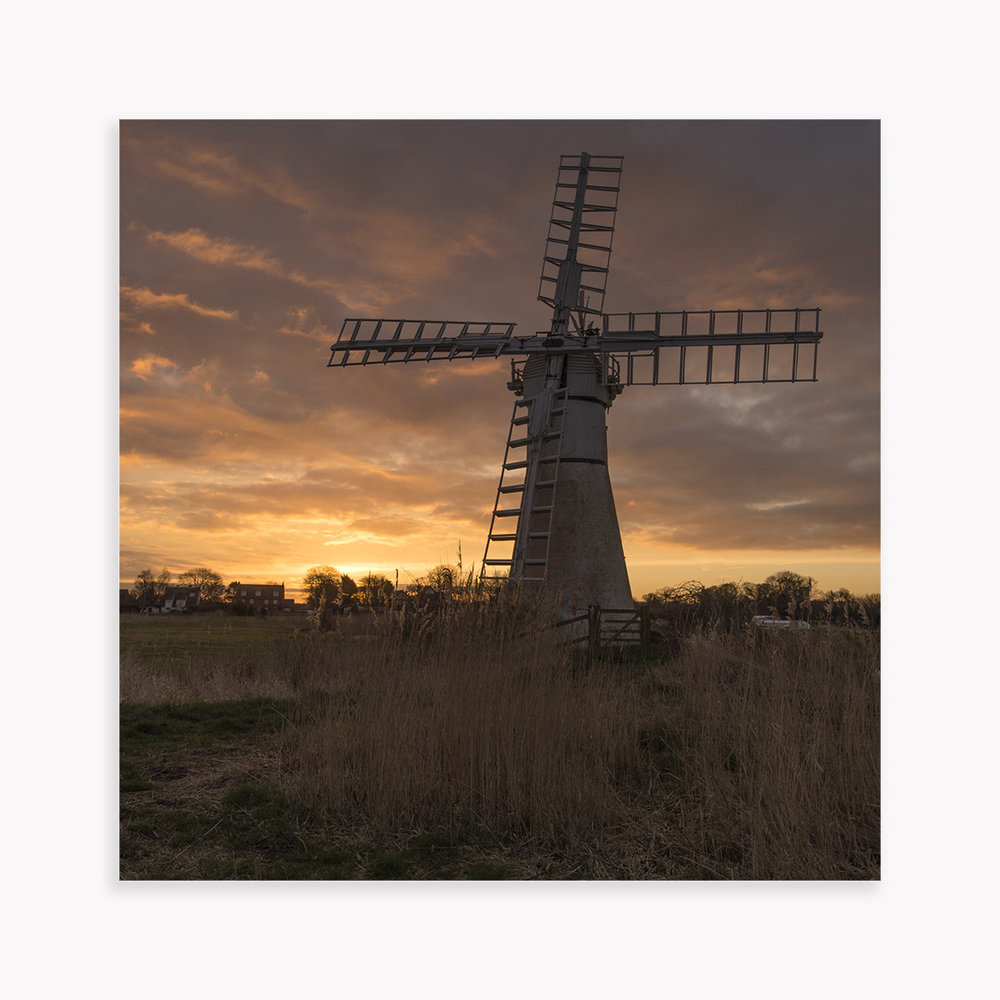 Thurne Mill at Dawn