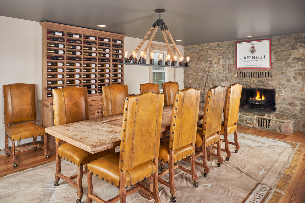 The Greenhill Room at Greenhill Winery & Vineyard's Club House