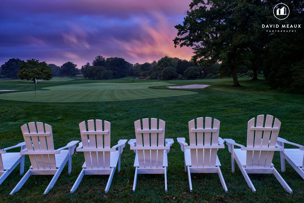 Chevy Chase Club - View of the Golf Course Early Morning Sunrise