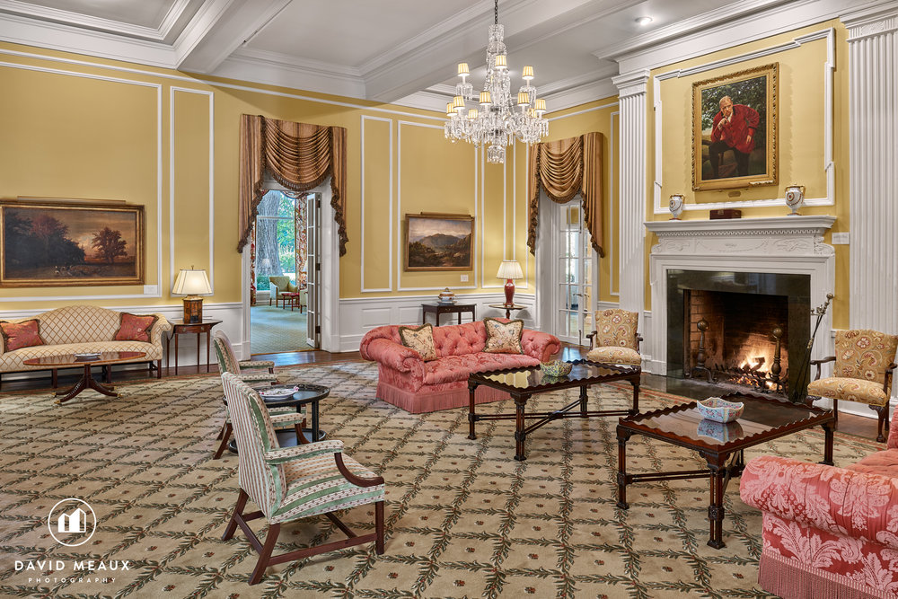 Drawing Room, Chevy Chase Club's Club House.