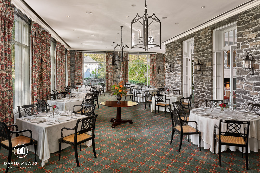 Terrace Room, Chevy Chase Club's Club House.