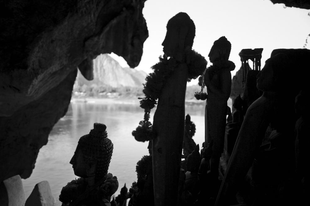Pack Ou Cave, Laos 2012