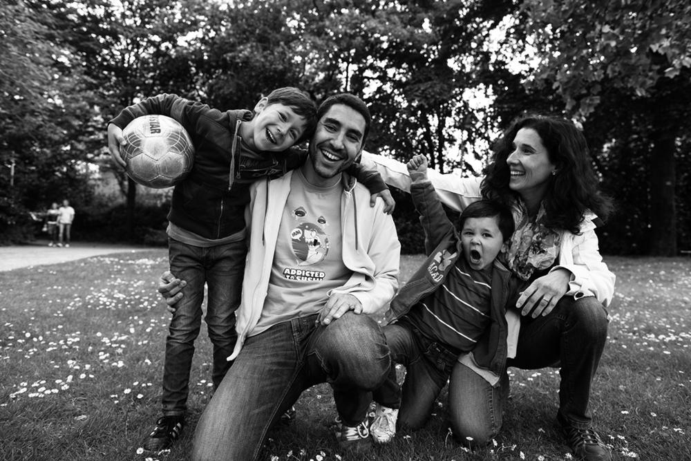 Margarida und Familie, Portugal / Deutschland
