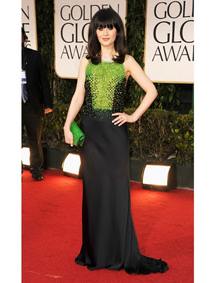 Zooey+Deschanel+Prada+dark+green+silk+dress+with+ivory+pearl+embroidered+collar%252C+black+and+emerald+green+glass+pearls+top%252C+and+open+back+%2528custom+made%2529.jpg