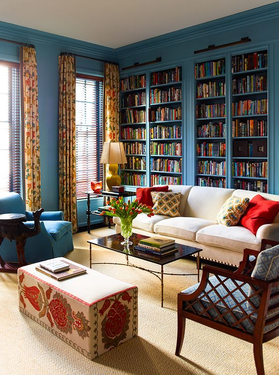 Katie Ridder Blue Bookcases.jpg