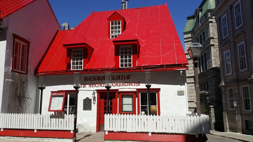 The oldest standing building in Quebec (built in the 1670s)